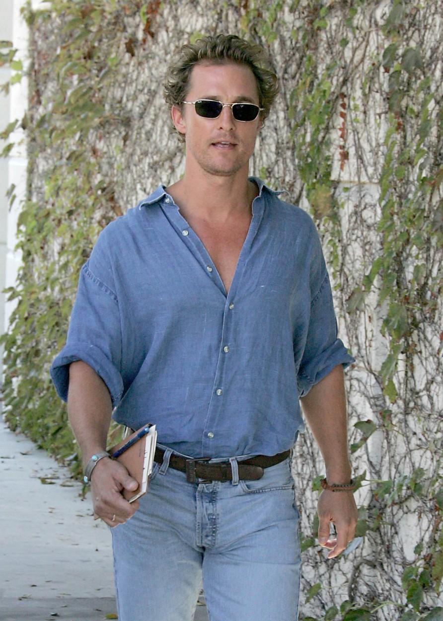 Jacka měl hrát Matthew McConaughey