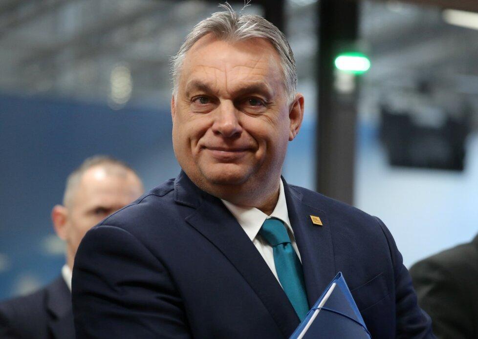 Summit EU o rozpočtu: Maďarský premiér Viktor Orban