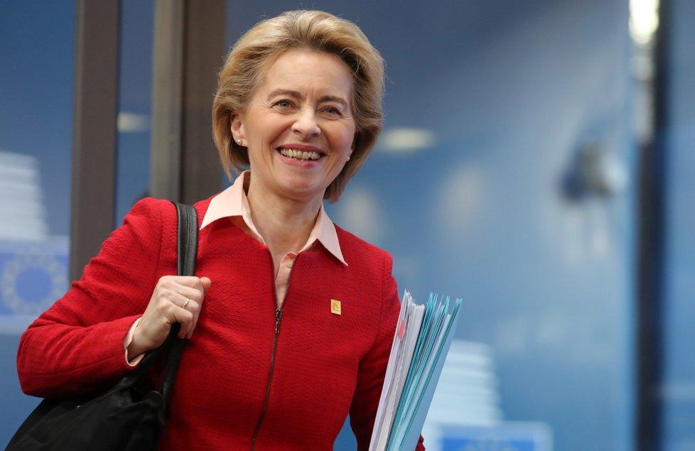 Summit EU o rozpočtu: Předsedkyně Evropské komise Ursula von der Leyenová
