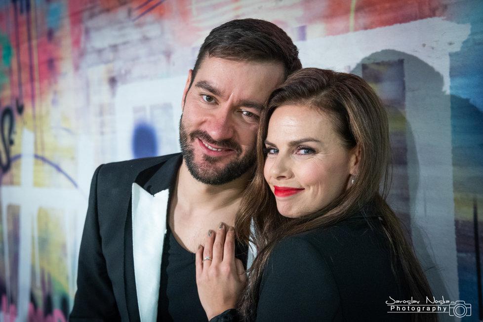 Marek Ztracený se na svém koncertě zasnoubil