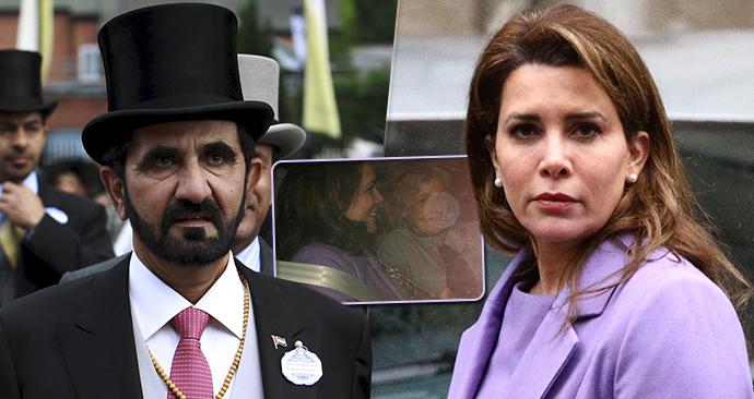 Soud zamítl odvolání šejcha Muhammada, princezna Hajá to ocenila širokým úsměvem.