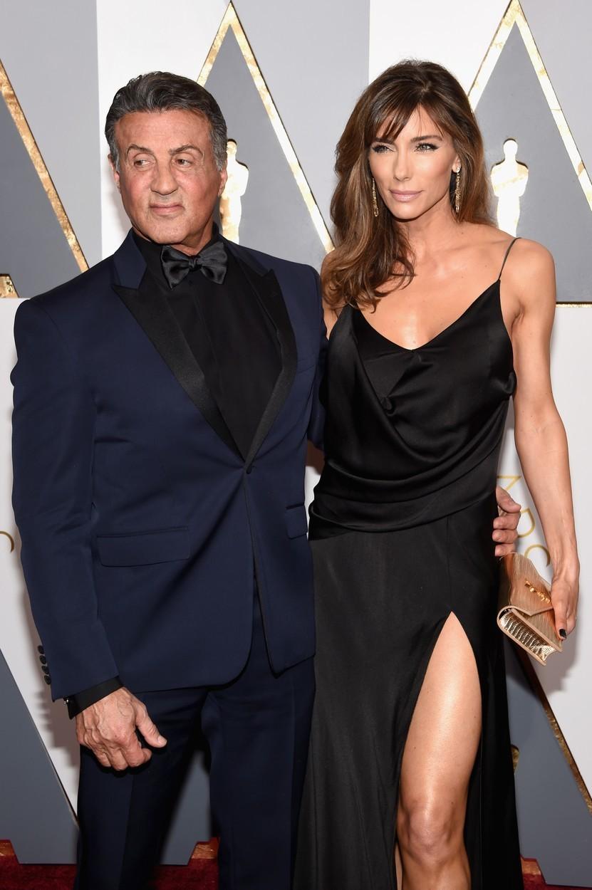 Sylvester Stallone (73) a Jennifer Flavin (51), rozdíl 22 let