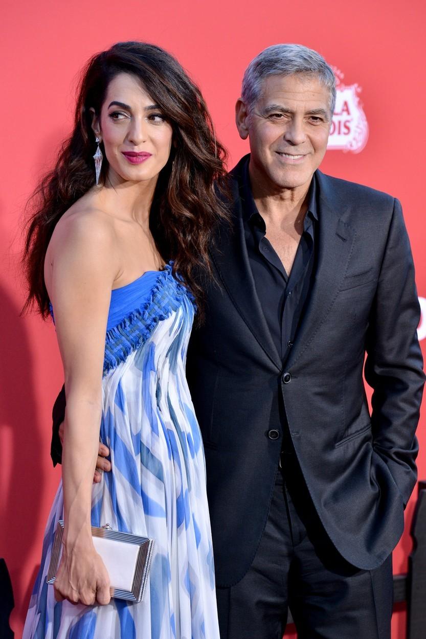 George Clooney (58) a Amal Clooney (42), rozdíl 16 let