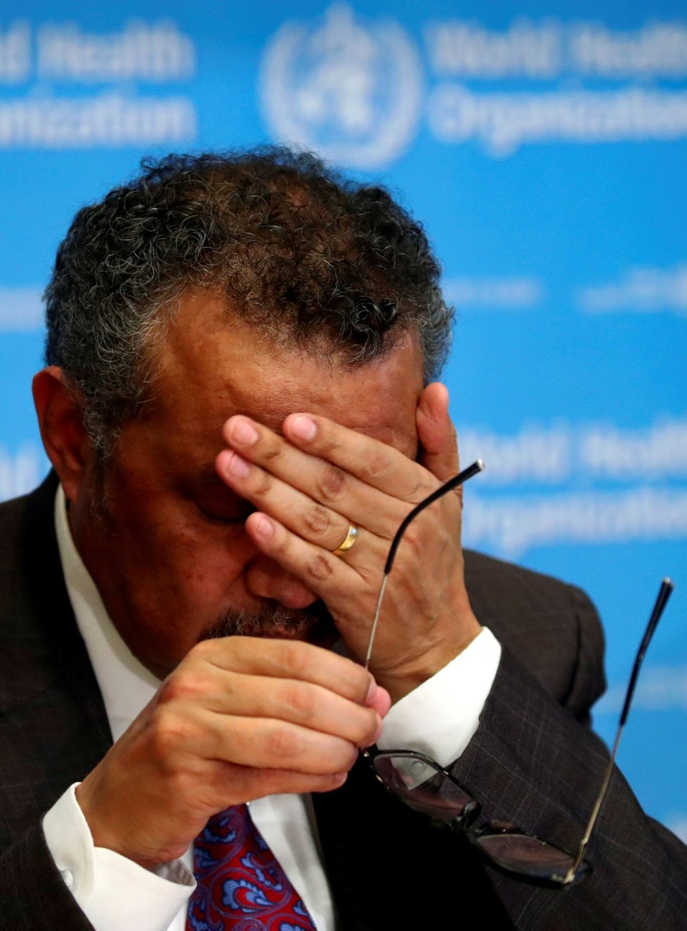 Šéf Světové zdravotnické organizace (WHO) Tedros Adhanom Ghebreyesus