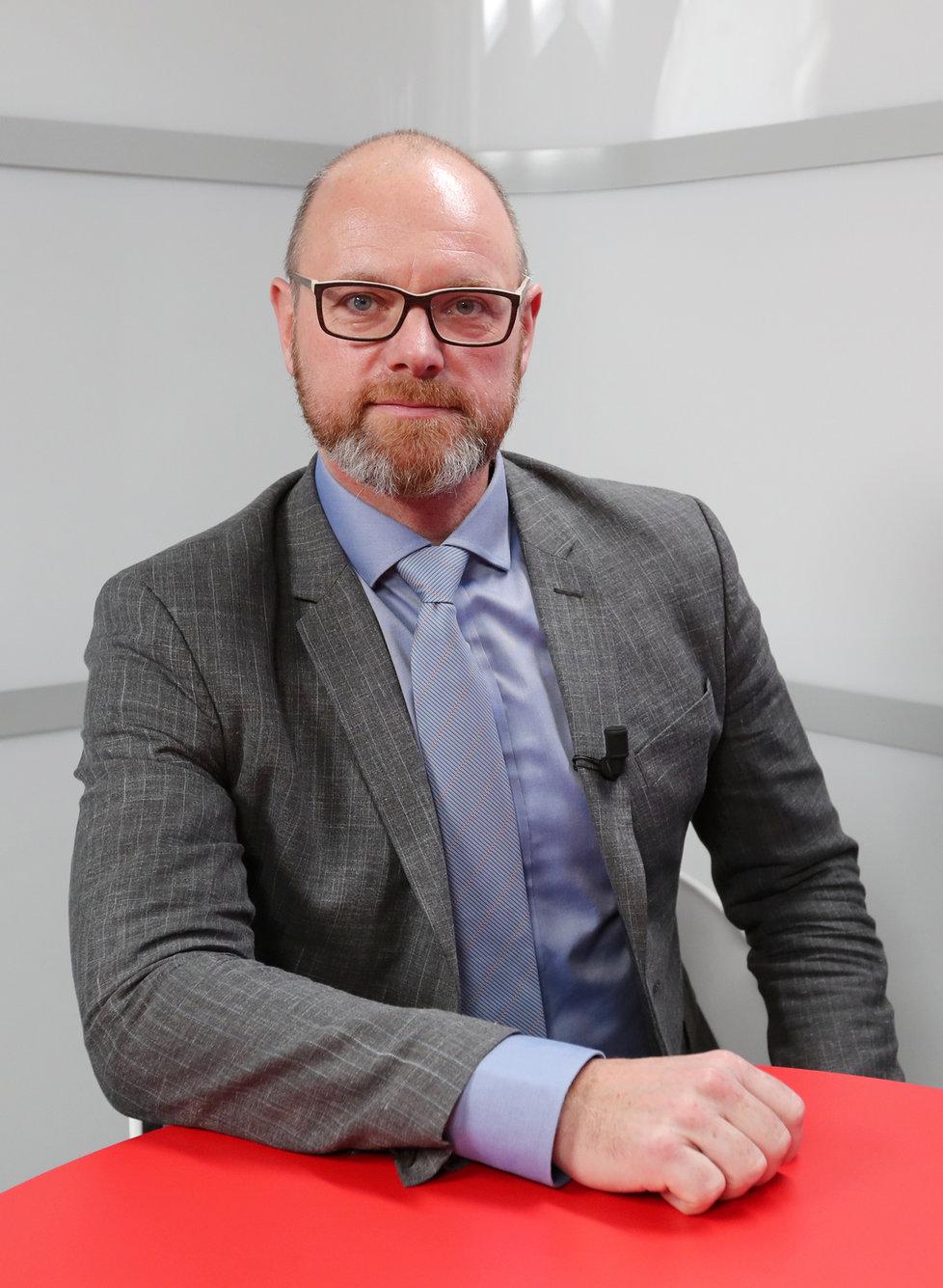Ministr školství Robert Plaga (ANO) byl hostem Epicentra v den, kdy byly uzavřeny základní až vysoké školy v Česku kvůli koronaviru (11. 3. 2020).