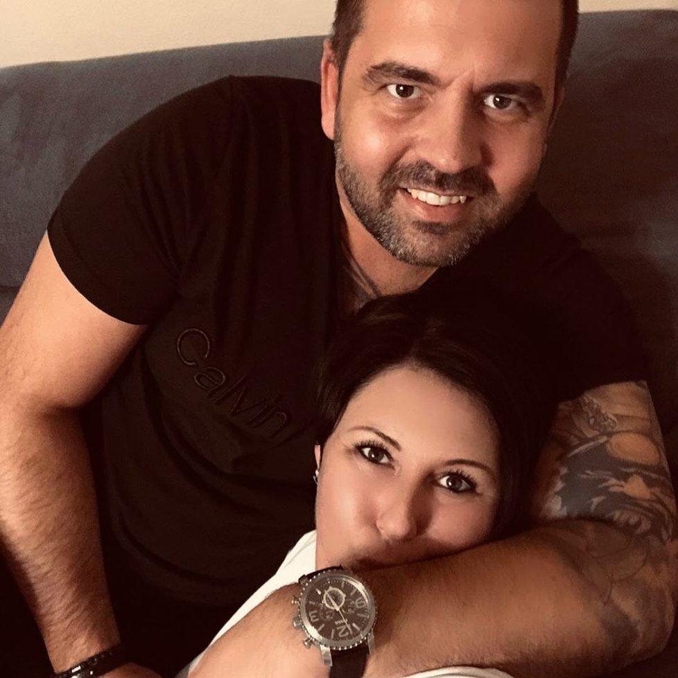 Šéfkuchař Radek Kašpárek s partnerkou Andreou