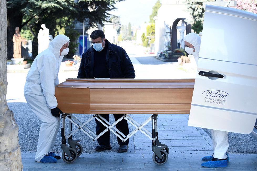 Epidemie koronaviru v Itálii pokračuje, (18.03.2020).