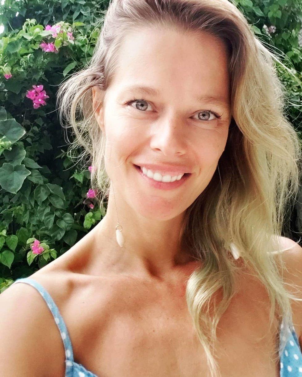 Helena Houdová na Bali