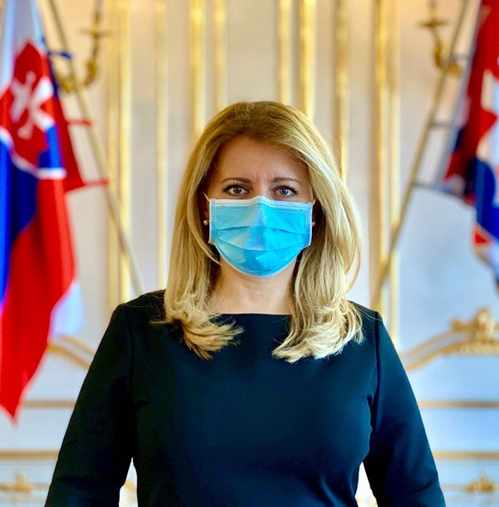 Slovenská prezidentka Zuzana Čaputová.