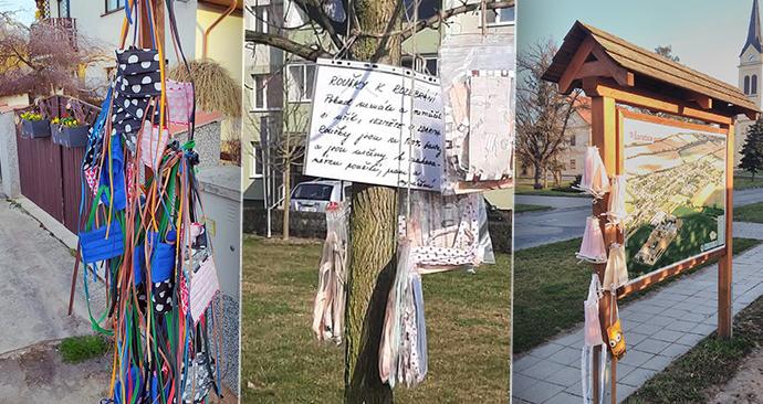 """V Česku vyrostly """"rouškovníky"""". Lidé šijou sousedům, textilu """"fandí"""" i Prymula"""