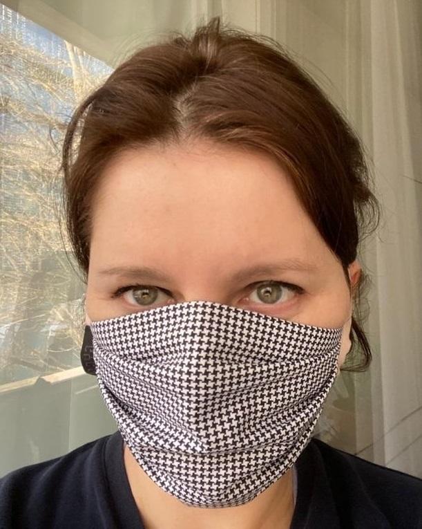 Jana Maláčová (ČSSD) s rouškou během pandemie koronaviru