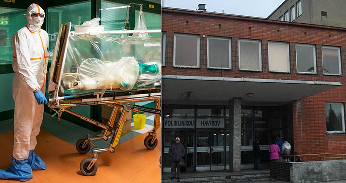 Jeden muž zemřel v havířovské nemocnici (vlevo ilustrační foto).