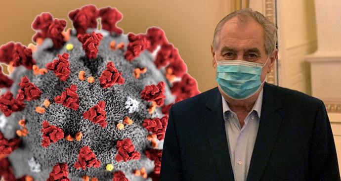 Zeman se zúčastní přehlídky v Moskvě, pokud nebude kvůli koronaviru zrušena