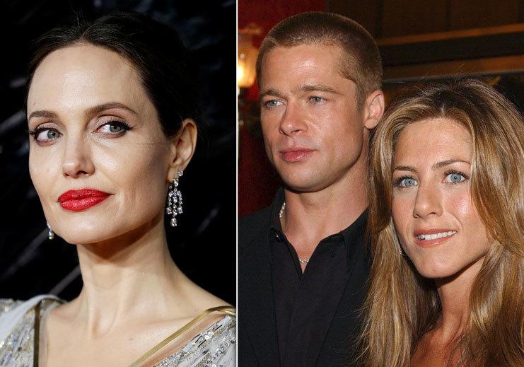 Angelina Jolie závidí Bradovi a Jennifer vztah