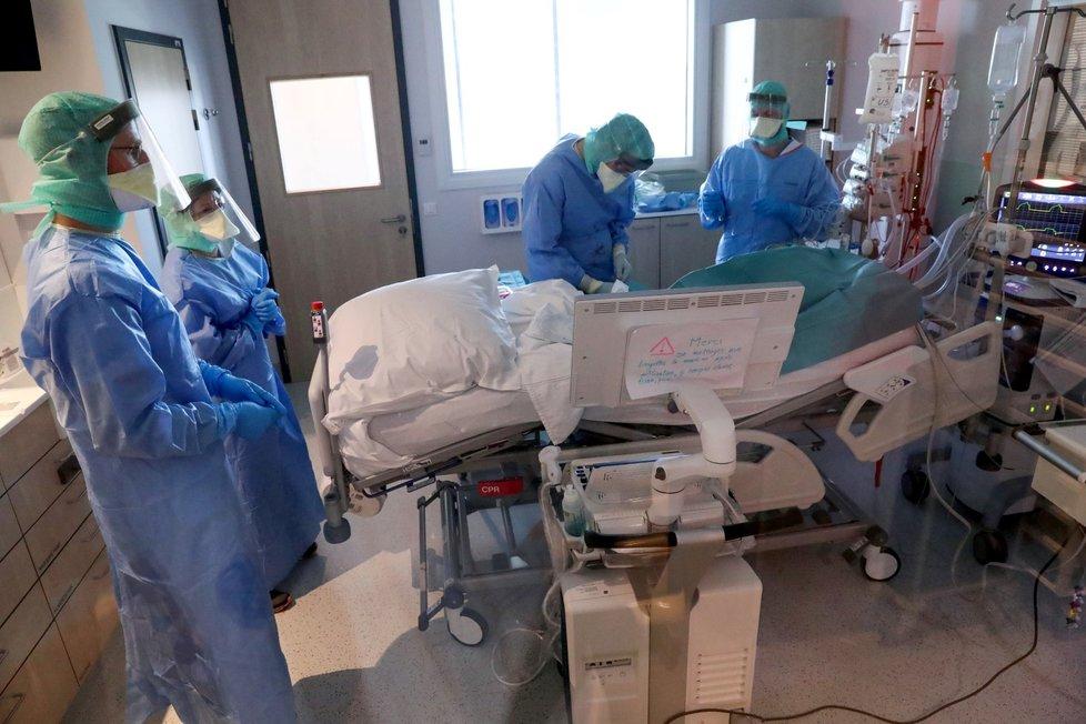 Nemocnice v Belgii jsou plné. (26. 3. 2020)