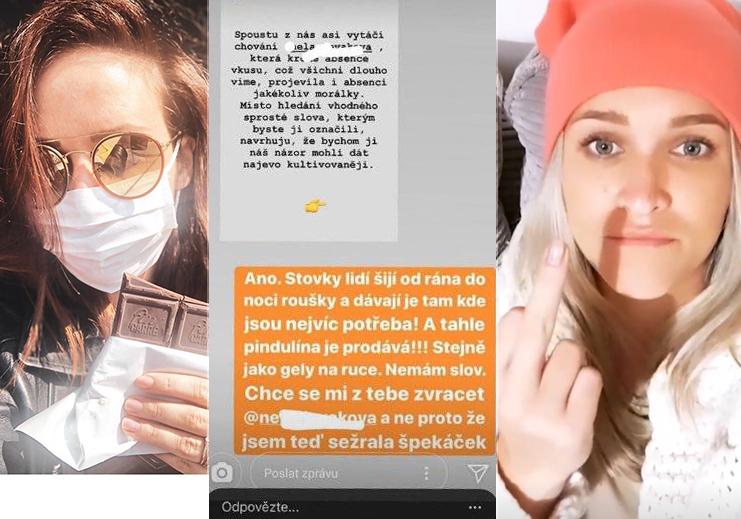 Veronika Arichteva se se Slovákovou nepáře