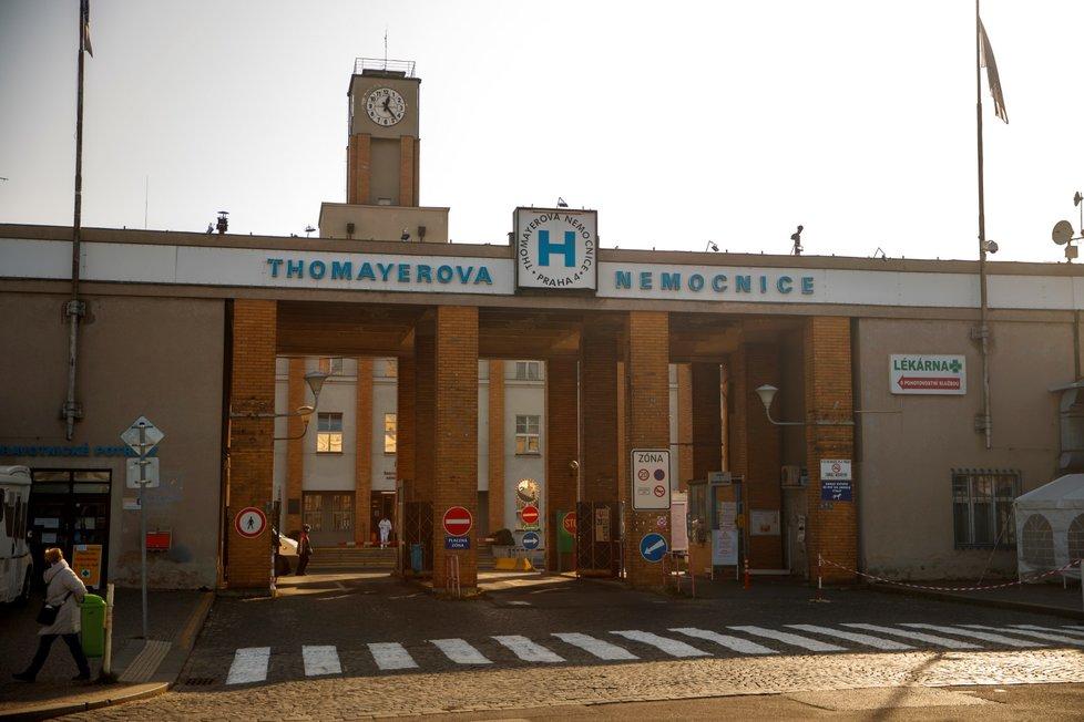 Pražská Thomayerova nemocnice