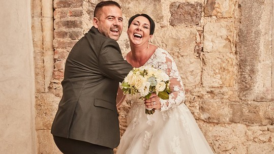 Svatba Radka Kašpárka