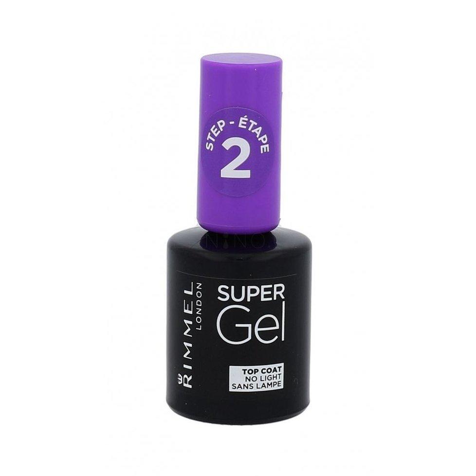 Vrchní gelový lak Super Gel Top Coat, Rimmel, 63 Kč