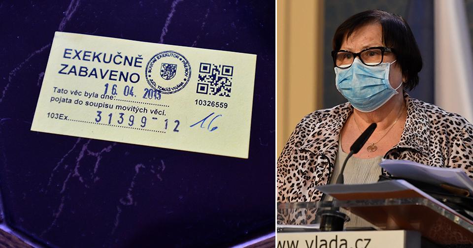 Ministryně spravedlnosti Marie Benešová (za ANO) chce ulevit dlužníkům