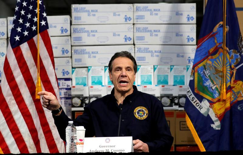 Guvernér státu New York Andrew Cuomo
