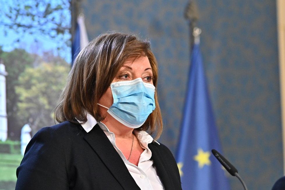 Alena Schillerová: Tiskovka po jednání vlády o dalších opatření kvůli koronaviru (1.4.2020)