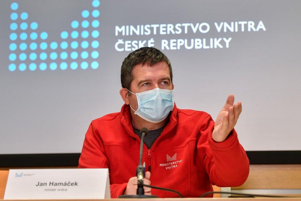 Vicepremiér a ministr vnitra Jan Hamáček (ČSSD)