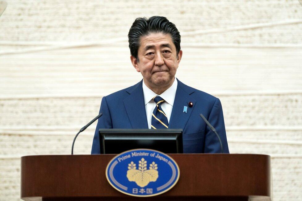 Japonský premiér Šinzo Abe