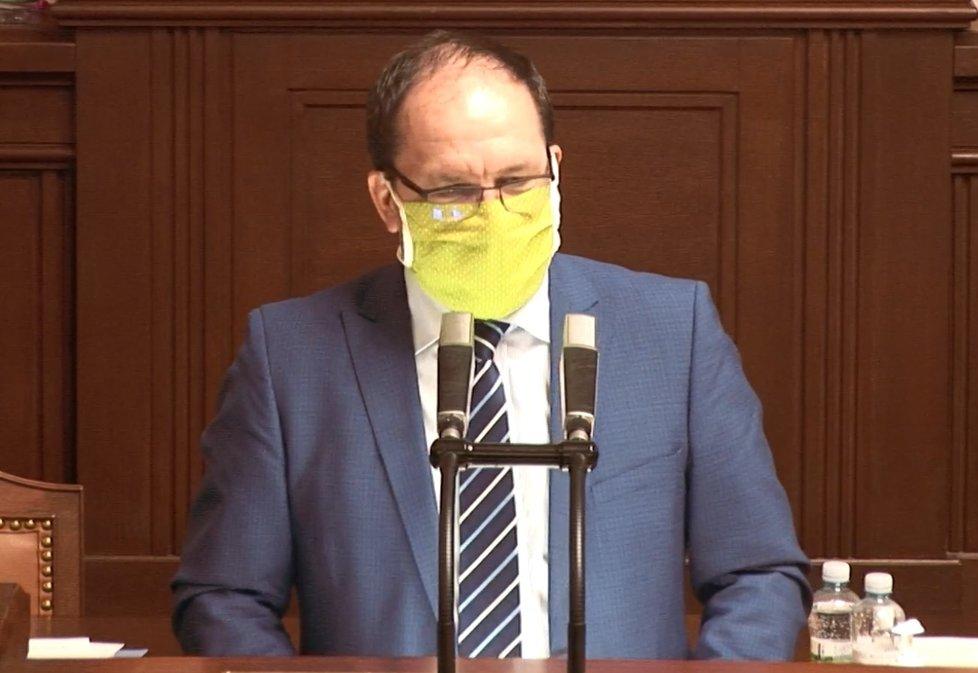Sněmovna o koronaviru: Poslanec Marek Výborný (KDU-ČSL) (8.4.2020)