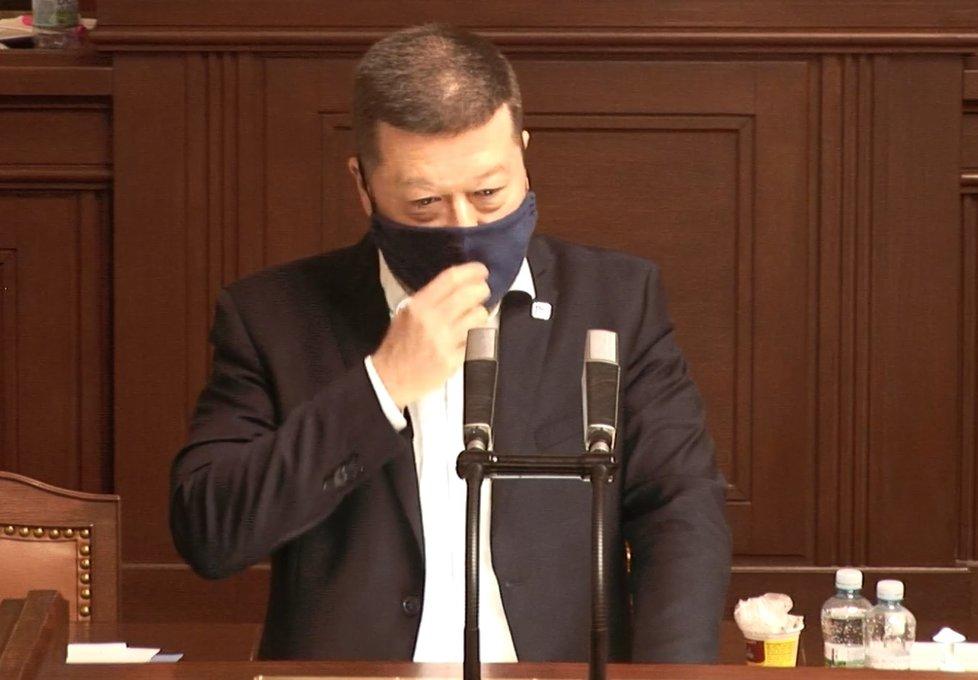 Sněmovna o koronaviru: Tomio Okamura (SPD) (8.4.2020)