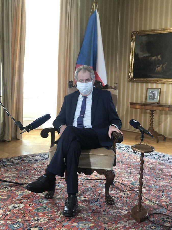 Miloš Zeman na Velikonoce: Projev ke koronavirové krizi