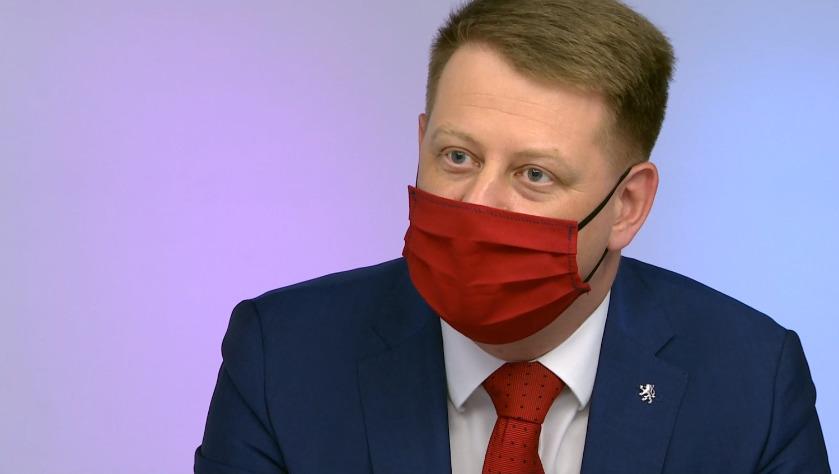 Prezident Svazu obchodu a cestovního ruchu ČR Tomáš Prouza v pořadu ČT Otázky Václava Moravce
