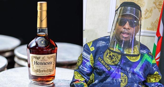 Keňský guvernér rozesílá balíčky s koňakem, naletěl falešné zprávě, že alkohol léčí koronavirus.