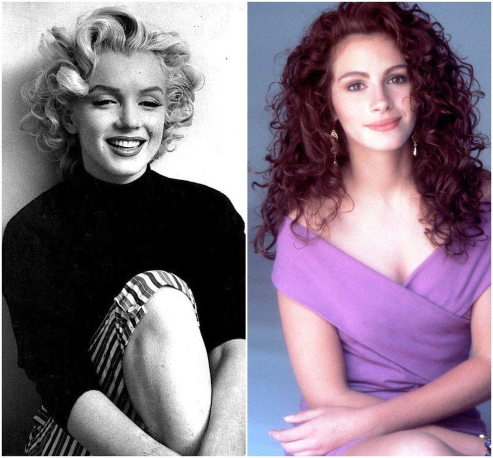 Nejslavnější kudrnaté vlasy všech dob: Od Marilyn Monroe po Julii Roberts