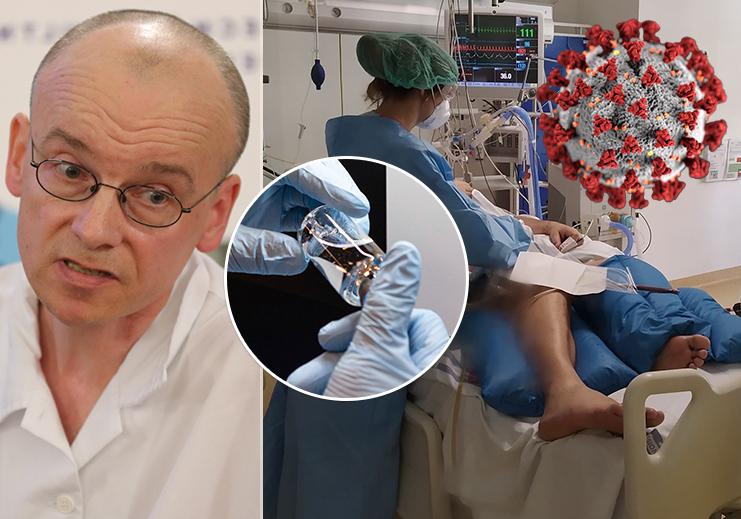 Doktor Martin Balík pečoval o vyléčeného taxikáře i zemřelého 44letého muže. Jak hodnotí vedlejší účinky Remdesiviru?