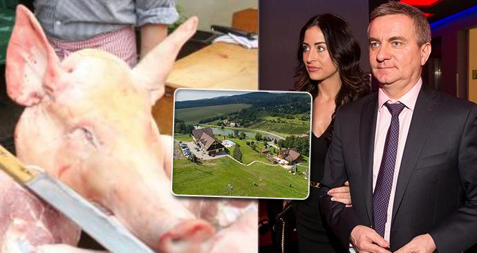 V hospodě kancléře Mynáře se konala zabijačka, hygiena o ní nevěděla. (18. 4. 2020)