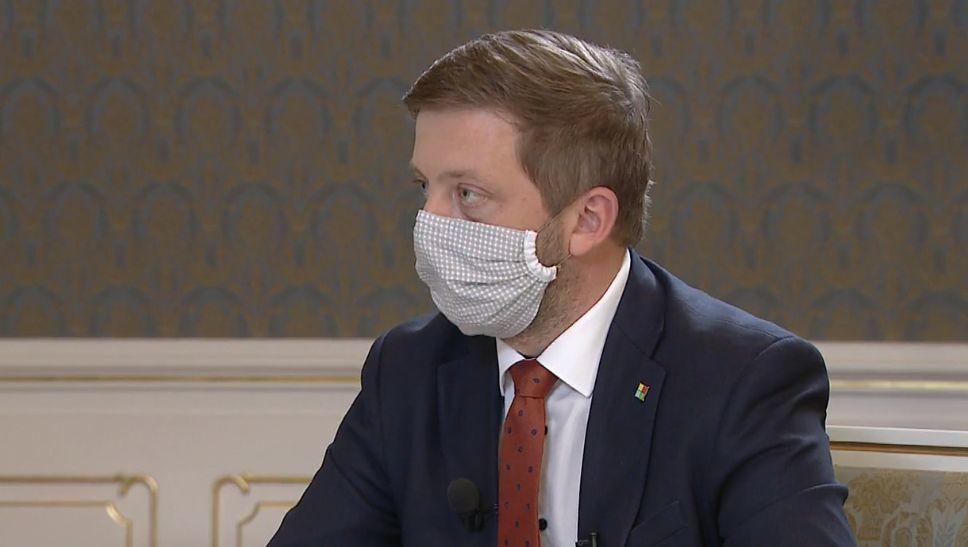 Předseda STAN Vít Rakušan v Partii na Primě (19. 4. 2020)