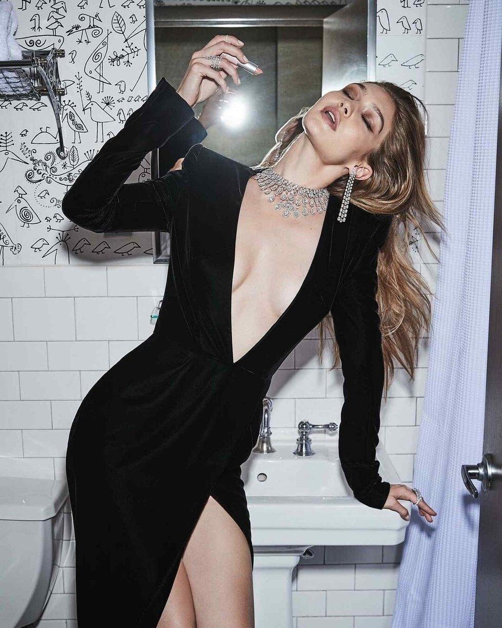 Loňský rok uvedla topmodelka Gigi Hadid kolekci šperků Messika.