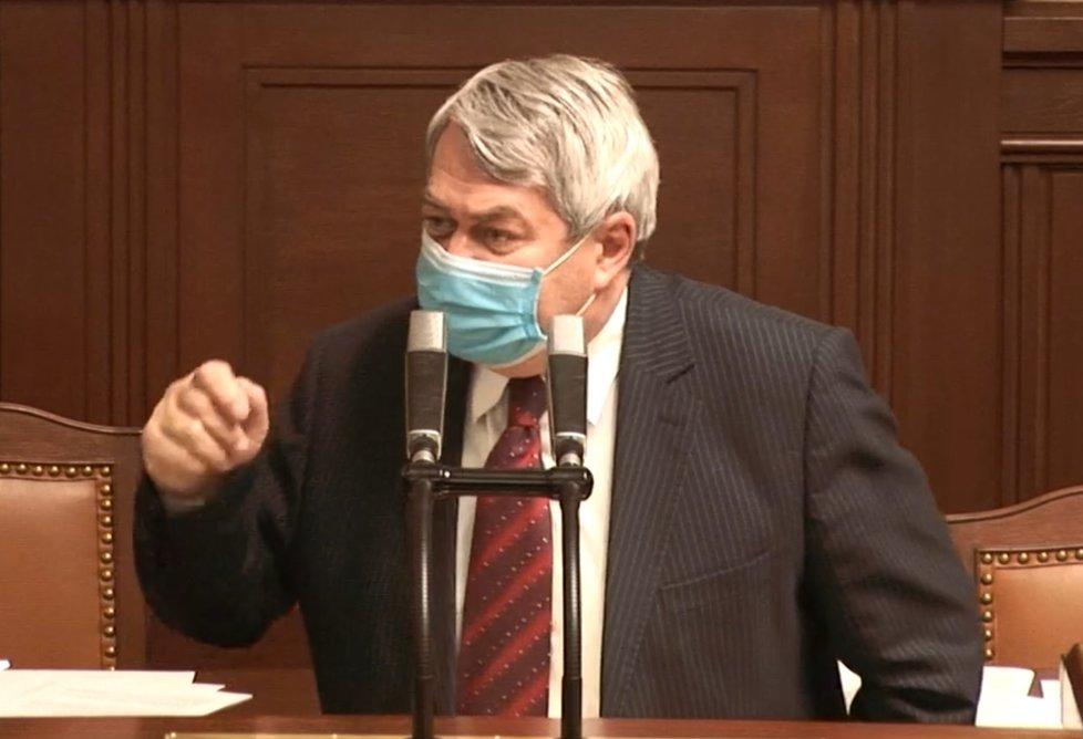 Sněmovna o koronaviru: Vojtěch Filip (KSČM) (22.4.2020)