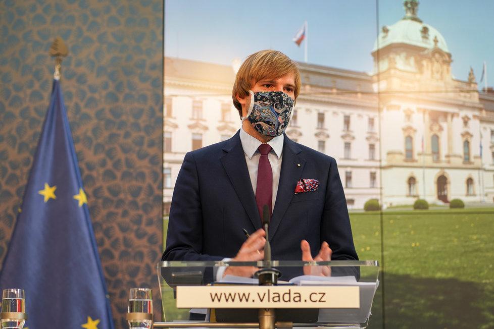 Vláda o koronaviru: Adam Vojěch (20.4.2020)