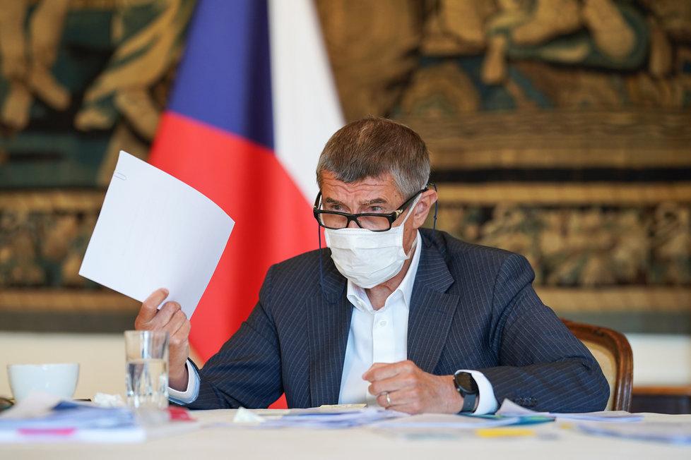 Vláda o koronaviru: Andrej Babiš (20. 4. 2020)
