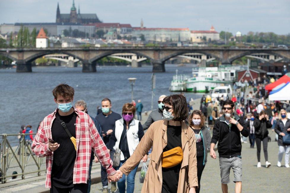 Farmářské trhy na Pražské náplavce v sobotu 25. 4. 2020