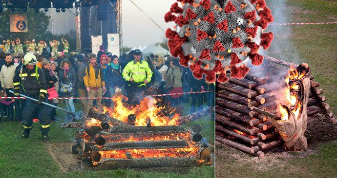 Čarodějnice letos nebudou, hasiči tak nabádají, aby se lidé vyhnuli i zapalováním ohňů na zahradě.
