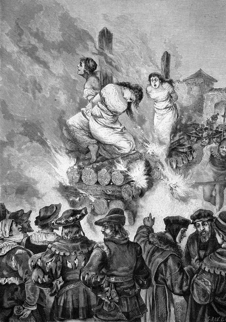 Nejvíce čarodějnic zemřelo upáleno na hranici