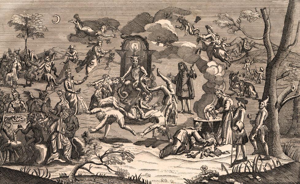 Čarodějnický sabat i s Belzebubem na trůnu