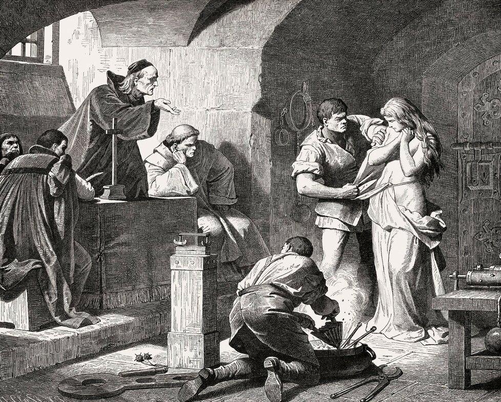 Inkvizice pátrá po čarodějném znamení