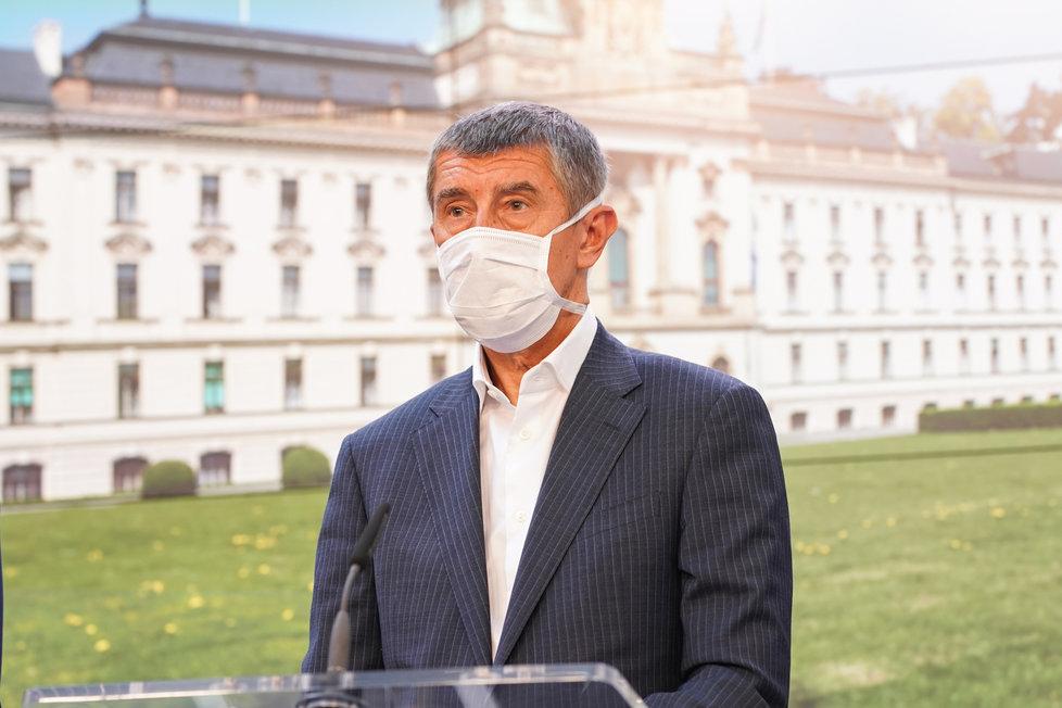 Vláda o koronaviru: Andrej Babiš (24.4.2020)