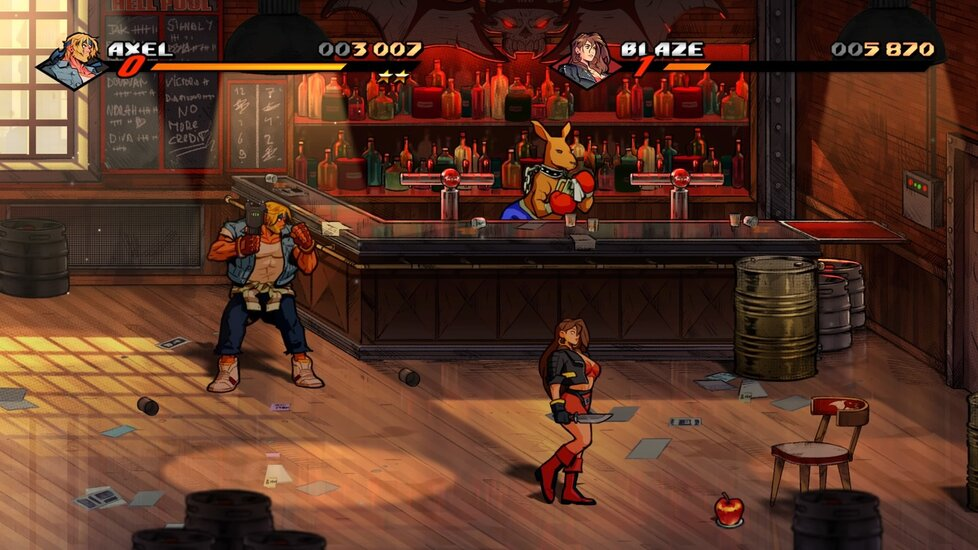 Streets of Rage 4 pro PlayStation 4