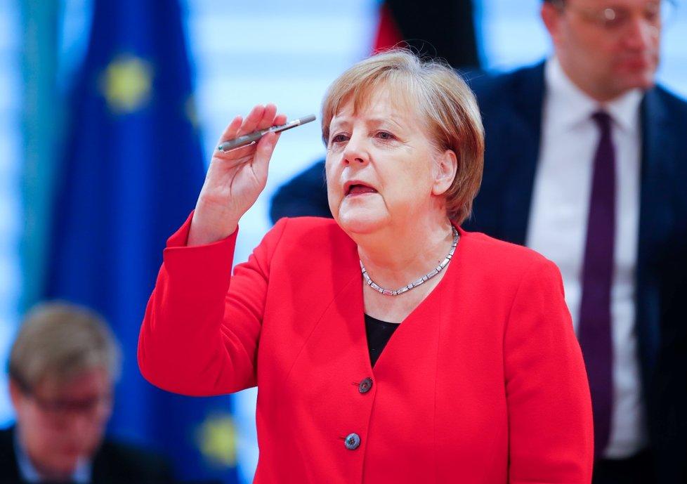Německá kancléřka Angela Merkelová (6. 5. 2020)