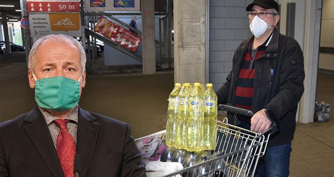 Prymula poradil, co s nákupem potravin. (7. 5. 2020)